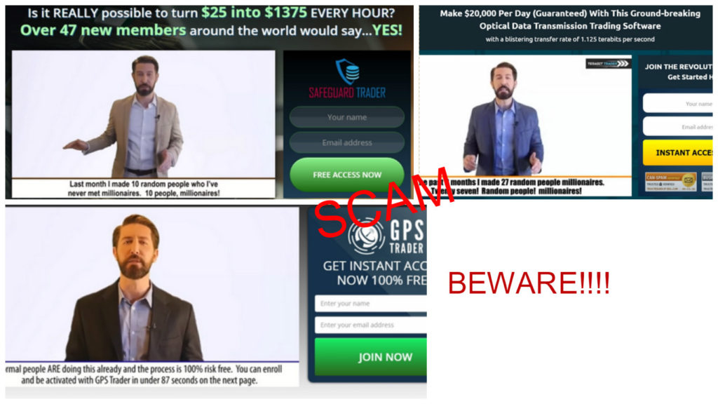 terabit trading software fake ceo