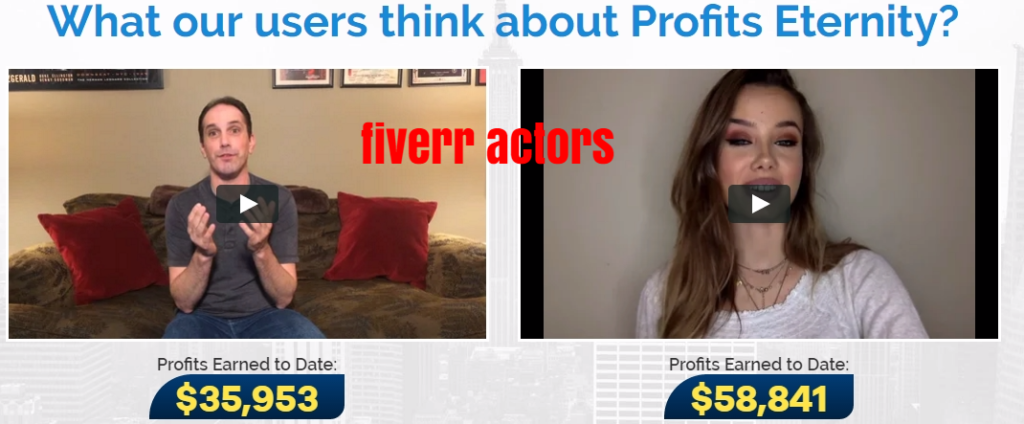 profits eternity fake fiverr
