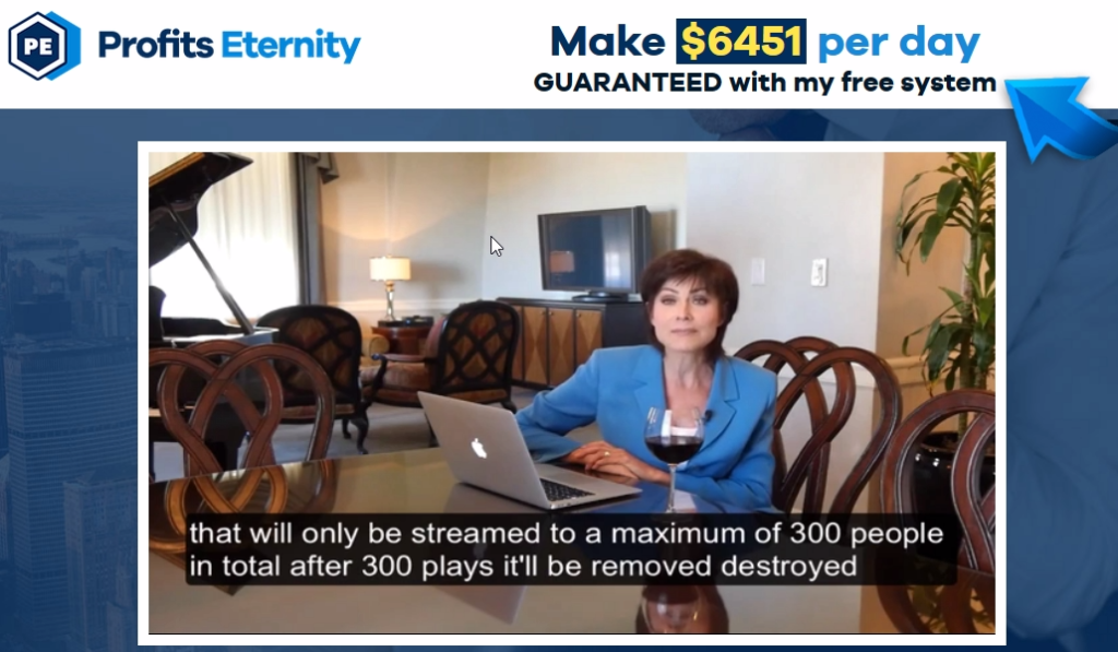 profits eternity scam
