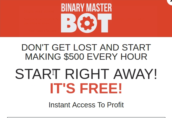 binary master bot