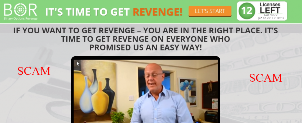 binary options revenge