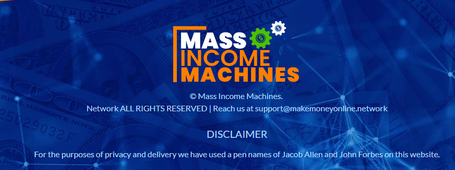 mass income machines