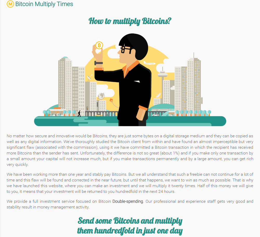 Bitcoin Multiply times