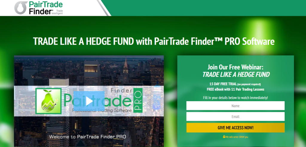 Pair Trade Finder Pro Review: Scam or Legit Pair Trading Software?