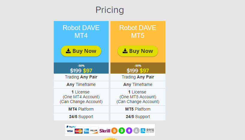 Dave forex trading robot review