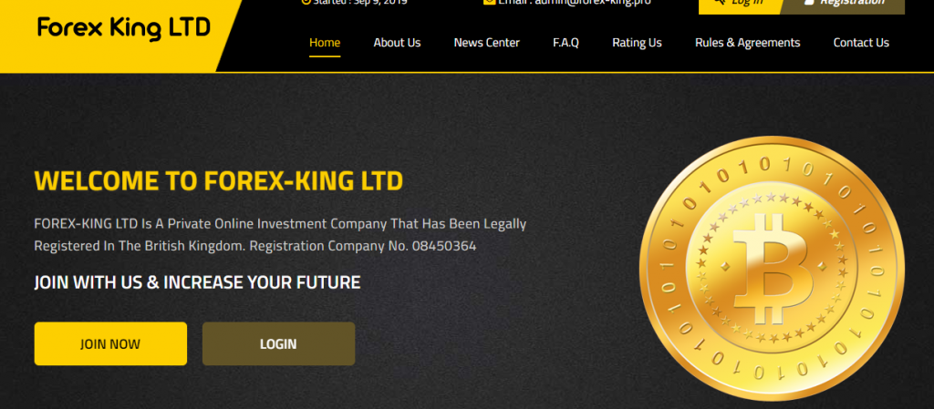 King invest forex com