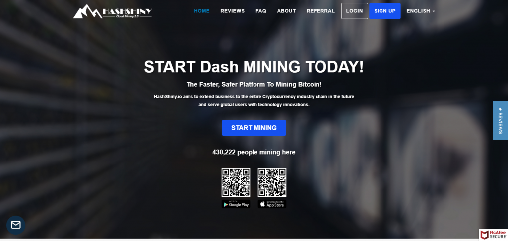 hashshiny homepage image