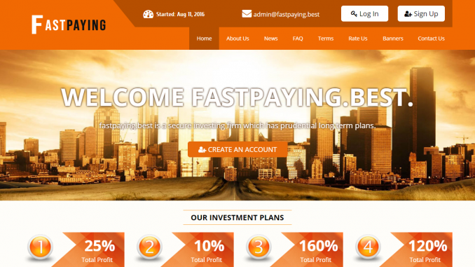 Fastpaying Homepage Image