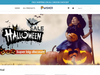 Newisher Shop Homepage Image